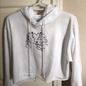 Brandy Melville skeleton sweatshirt